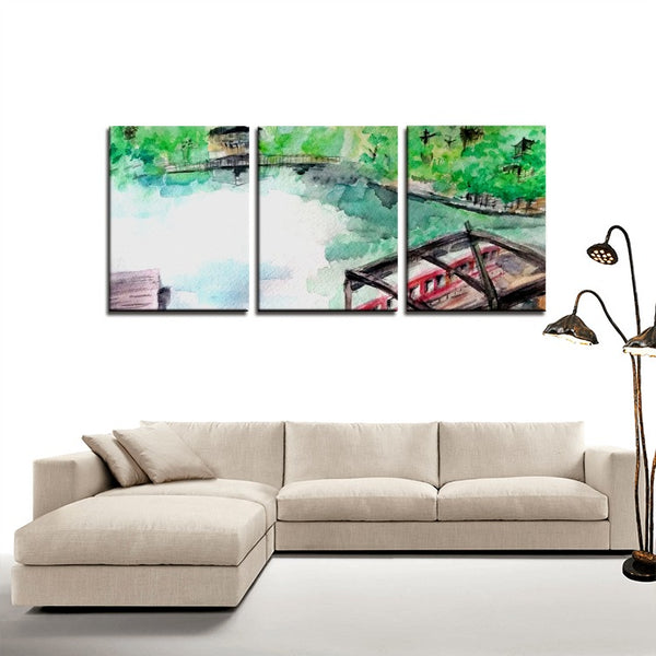 3 Panels Canvas Prints Wall Art for Wall Decorations