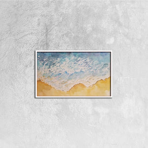 Canvas Prints Wall Art for Home Decorations Stretched White Horizontal Frame Ready to Hang, 20ⅹ12 inch