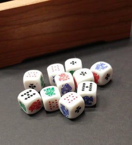 Poker Dice (set of 10)