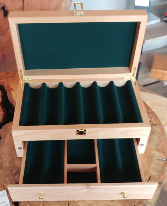 Large Poker box (holds 500 chips)