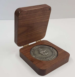 Coin Display Box (walnut)
