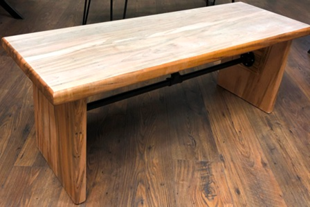 Handmade Maple Table/Bench