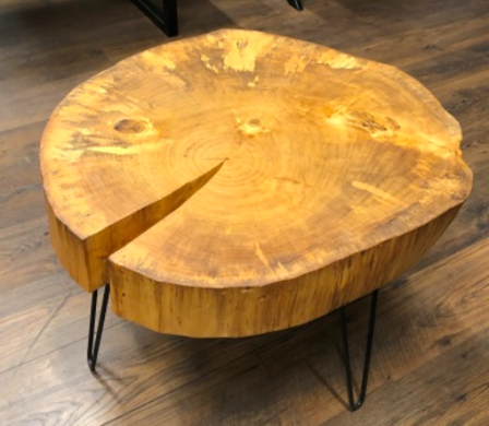 Handmade Cottonwood Table