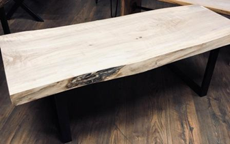 Handmade Cottonwood Table 2