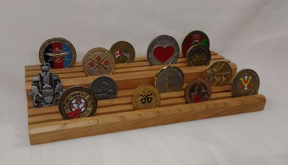 Coin Display Board (2 levels)
