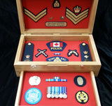 Desktop Memorabilia Box Deluxe (with drawer)