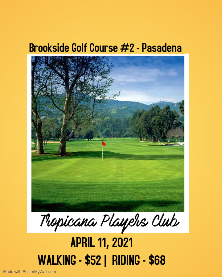 APRIL 11 - Brookside Golf Course #2