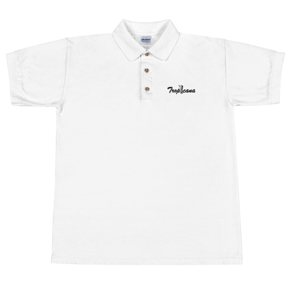 Tropicana Embroidered Polo Shirt