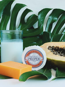 Virgin Coconut Oil Papaya Milk Soap Bar 135g