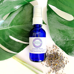 Hand Sanitizing Spray - Lavender Burst