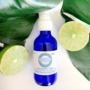 Hand Sanitizing Spray - Eucalyptus Lime