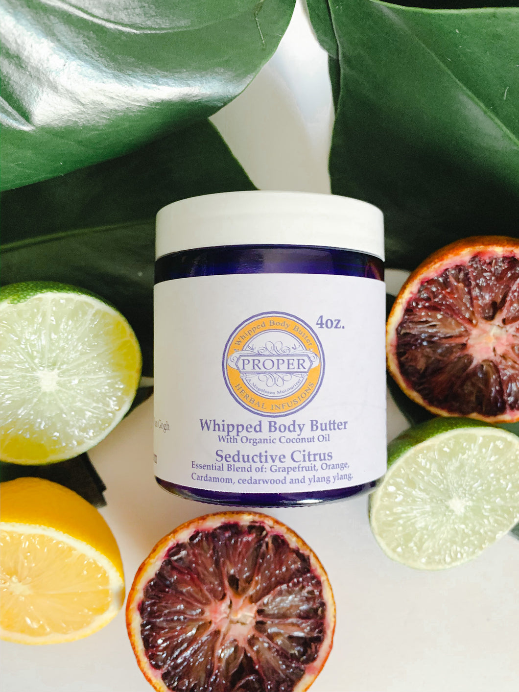 Whipped body butter - Seductive Citrus