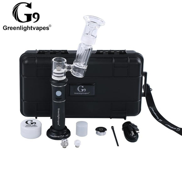 100% Original G9 Greenlightvapes Henai Plus Kit With 3500Mah Battery And 3 Different XL Nails DHL