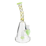 Cooling Coil Water Pipe Straw High Borosilicate Glass Shisha Bongs