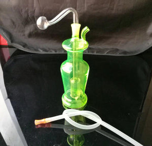 Color glass vase hookah