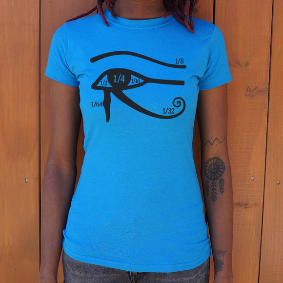 Eye Of Horus T-Shirt (Ladies)