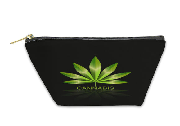 Accessory Pouch, Cannabis Leaf Icon