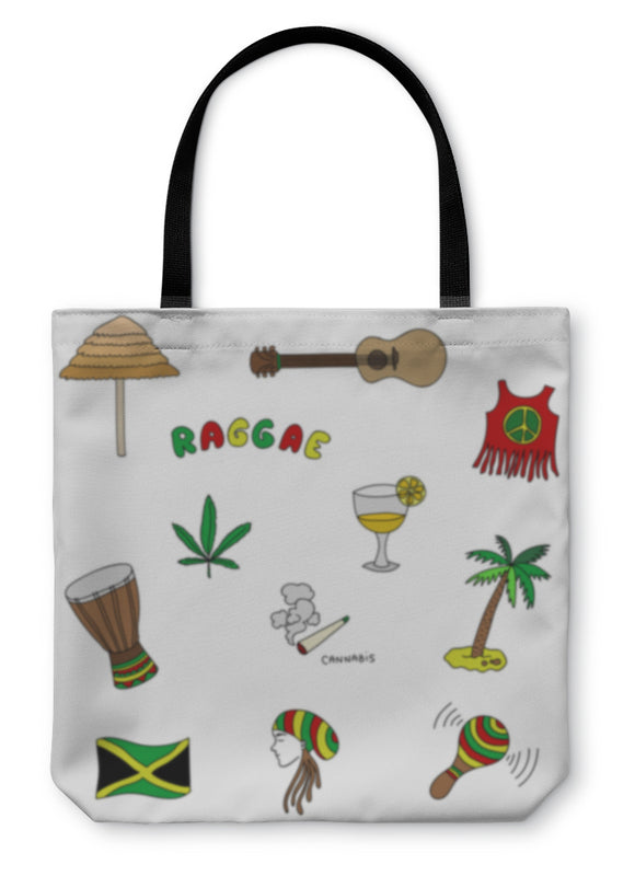 Tote Bag, Jamaica Set Or Pattern