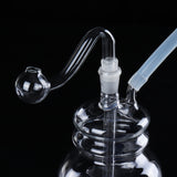 Glassware LED Water Glass Bong Pipe Bottle Holder