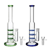 "3.5""x3.1""x10"" Water Glass Pipe Straw Bottle Glassware Shisha Chicha"