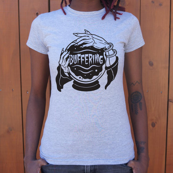 Crystal Ball Buffering T-Shirt (Ladies)
