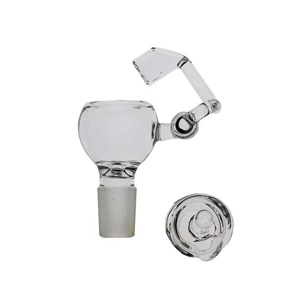 SAML 100% Quartz Honey Buckets with carb caps domeless quartz nail QUARTZ swing Arm Honey Buckets glass bowl PG5065