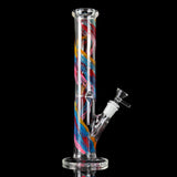 Smoke H-ookah Water Glass B-ong Joint T-obacco Pipe Glassware 30cm