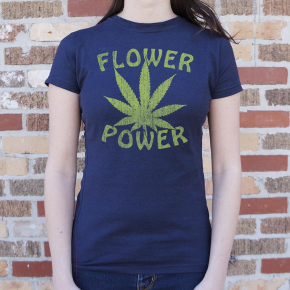 Flower Power T-Shirt (Ladies)