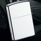 Retail New Fashion Windproof Metal Oil Cigarette lighter  Fuel Lighters Oil silver Lighter for Smoking Pipe