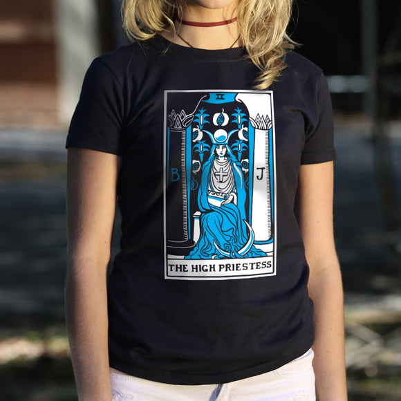 Tarot High Priestess T-Shirt (Ladies)