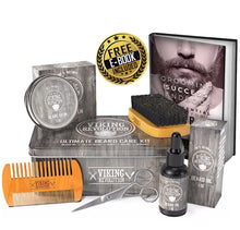 Load image into Gallery viewer, Vikings Revolution Beard Care Kit
