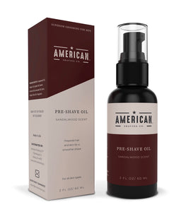 American Shaving Pre Shave Oil For Men