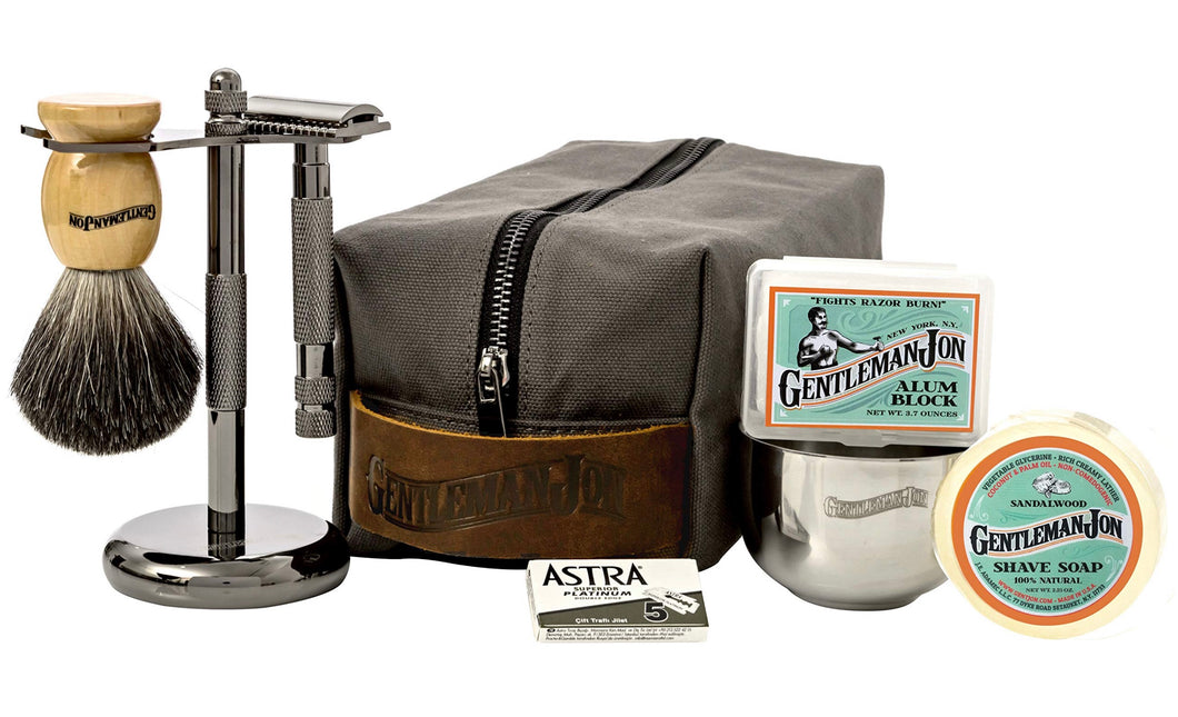 Gentleman Jon's Wet Shave 8pc Starter Kit