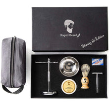 Load image into Gallery viewer, Rapid Beard Wet Shave Beginner Kit