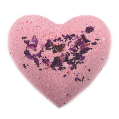 Peach Prosecco Heart Bath Bomb
