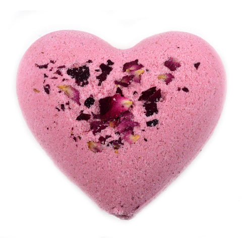 Rose Gold Heart Bath Bomb