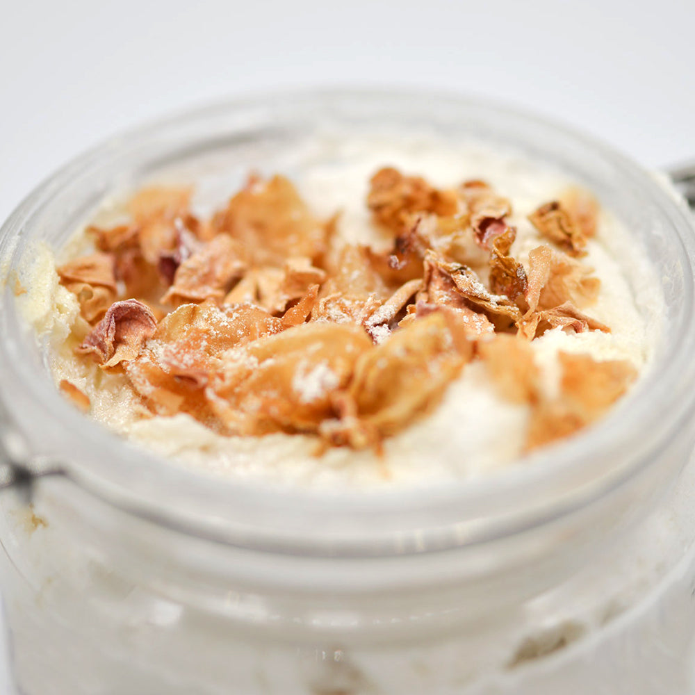 White Rose Lathering Sugar Face & Body Scrub