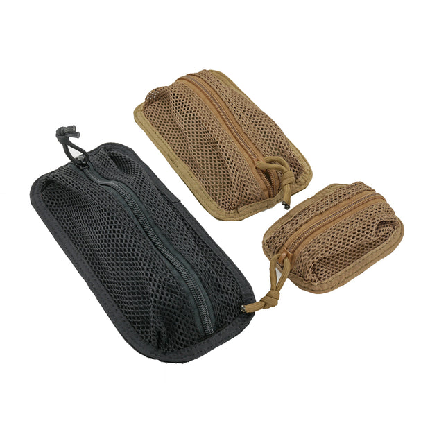 Detachable Mesh Pouches