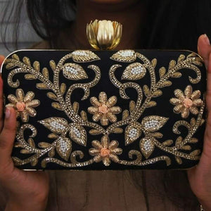 Aarti Clutch - Designer Evening Clutch Bags for Womens in USA