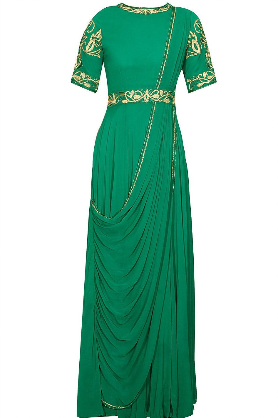 Perfect Panache Georgette Saree Gown