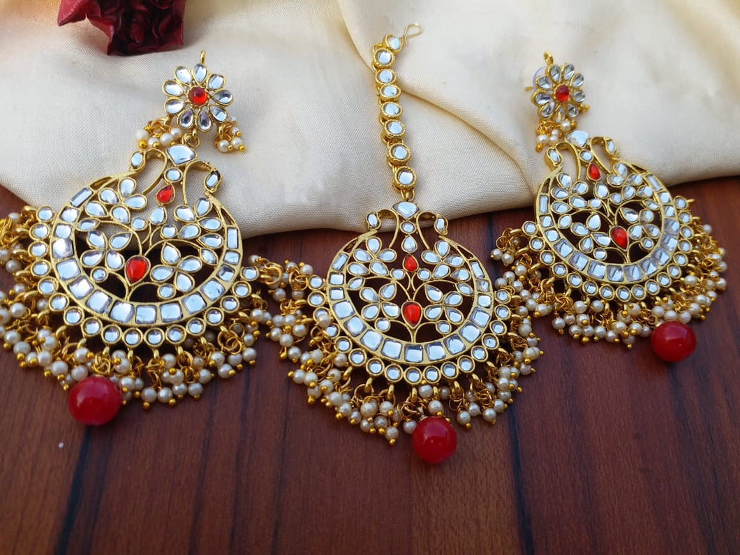 Buy Kundan Indian Party Layla Earrings: Perfect Panache