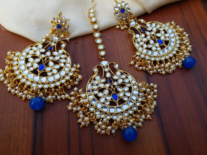 Buy Kundan Indian Party Lisa Earrings: Perfect Panache