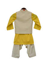 Load image into Gallery viewer, Boys Multi Colour Bootie Nehru Jacket With Salwar