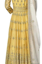 Load image into Gallery viewer, Traditional Angrakha Style Anarkali Suit