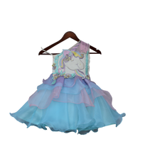 Load image into Gallery viewer, Girls Unicorn Dress