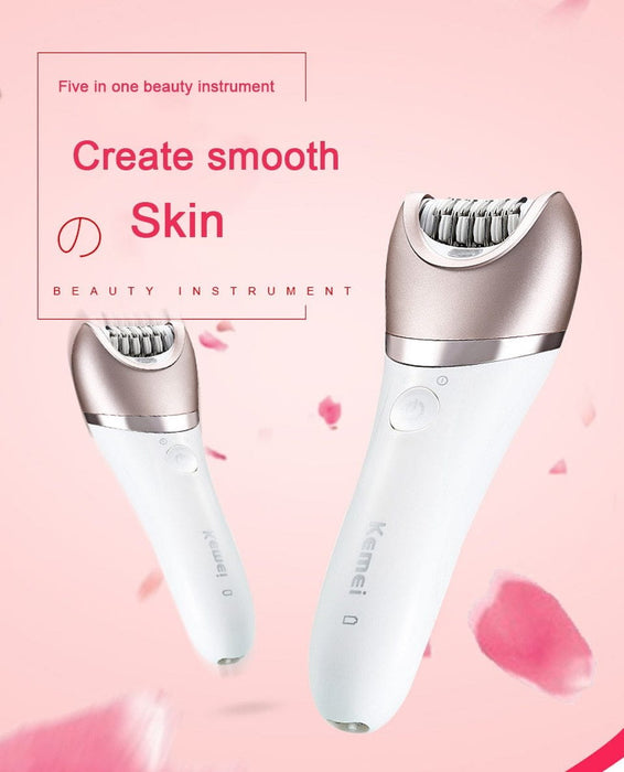 5 in 1 Wet and Dry Epilator