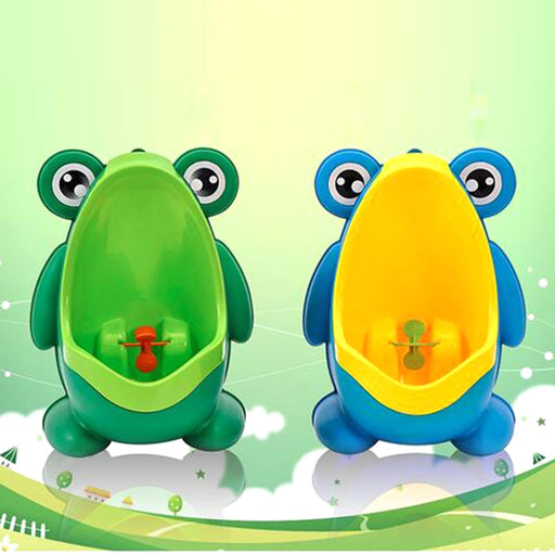 FROG SHAPE BABY BOYS STANDING POTTY