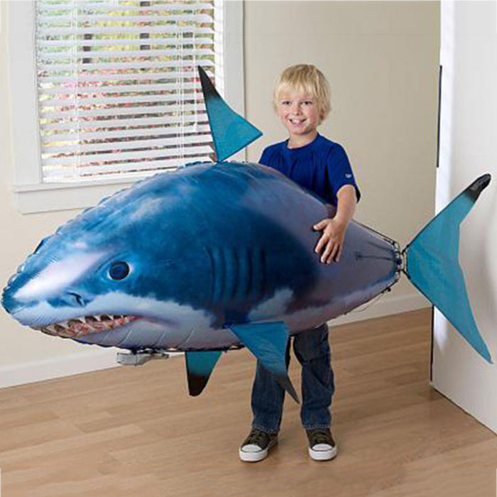 Remote-Controlled Flying Shark
