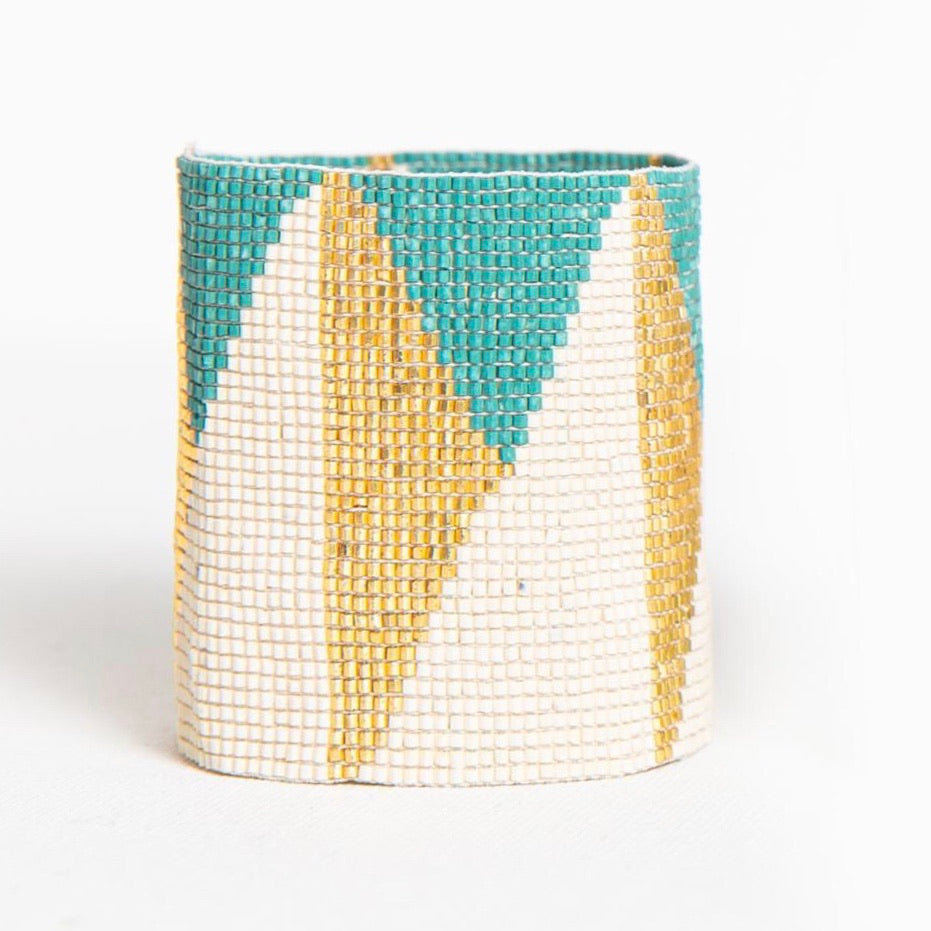 Metallic Cuff Teal