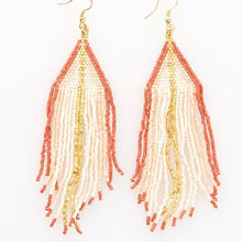 Load image into Gallery viewer, Metallic Coral Earring